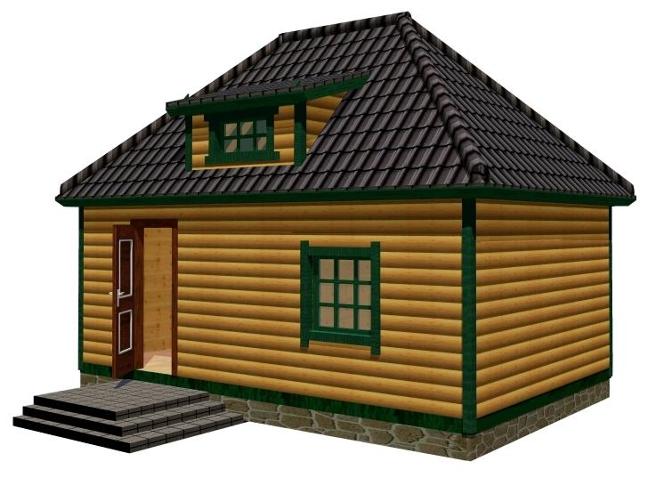 Дачный домик 2